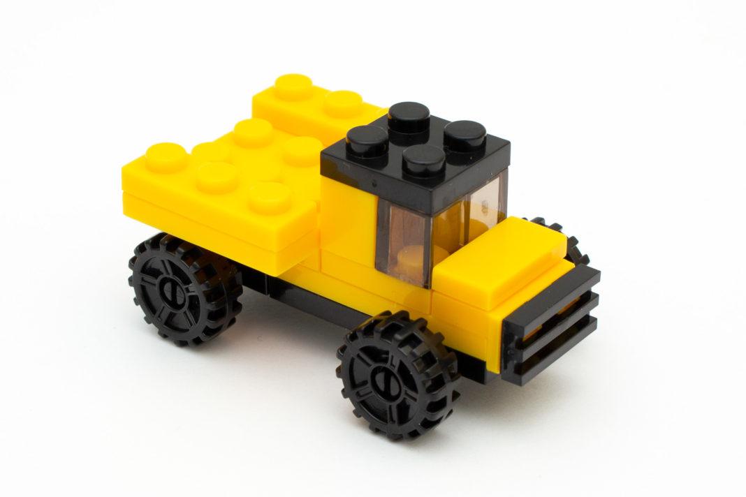 Der LKW ist das einzige Modell im Review ohne Fehler