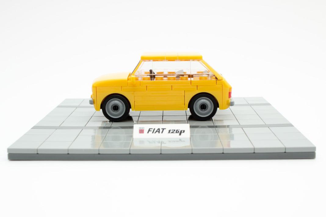 Die Spaltmaße des Fiat 126p von COBI könnten etwas besser sein.