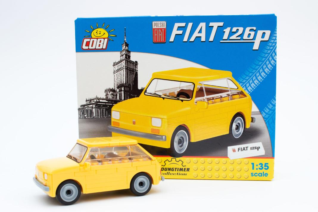 Der Fiat 126p von COBI.