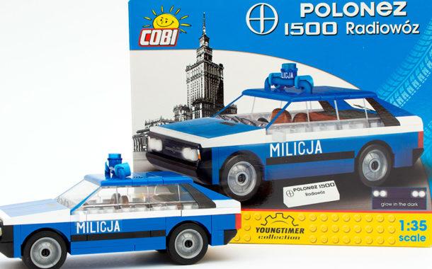 COBI 24533 - Polonez 1500 Radiowoz im Review