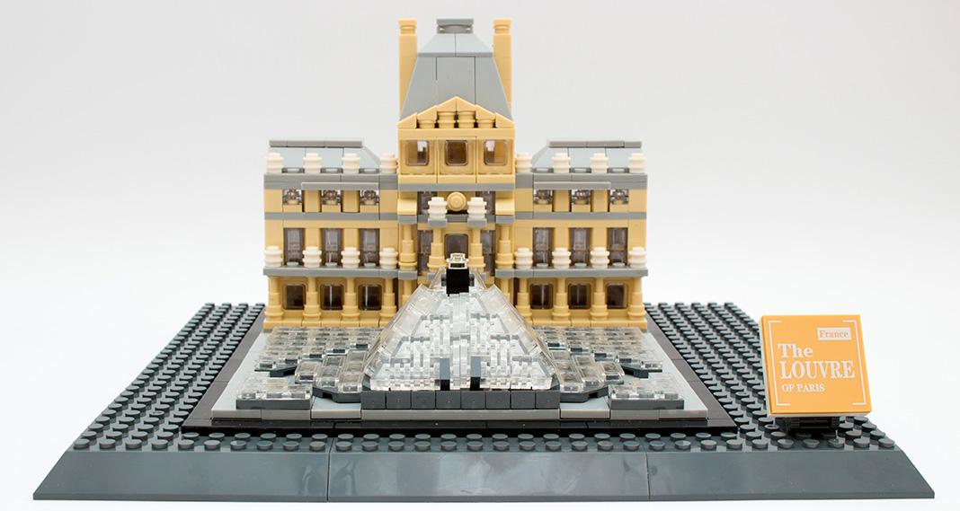 WANGE 7017 - The Louvre Of Paris im Review