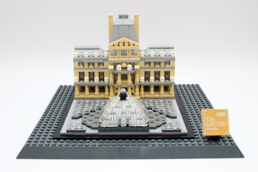 Das Louvre-Museum von WANGE in seiner vollen Pracht.