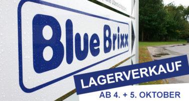 Lagerverkauf bei BlueBrixx am 4. & 5. Oktober 2019