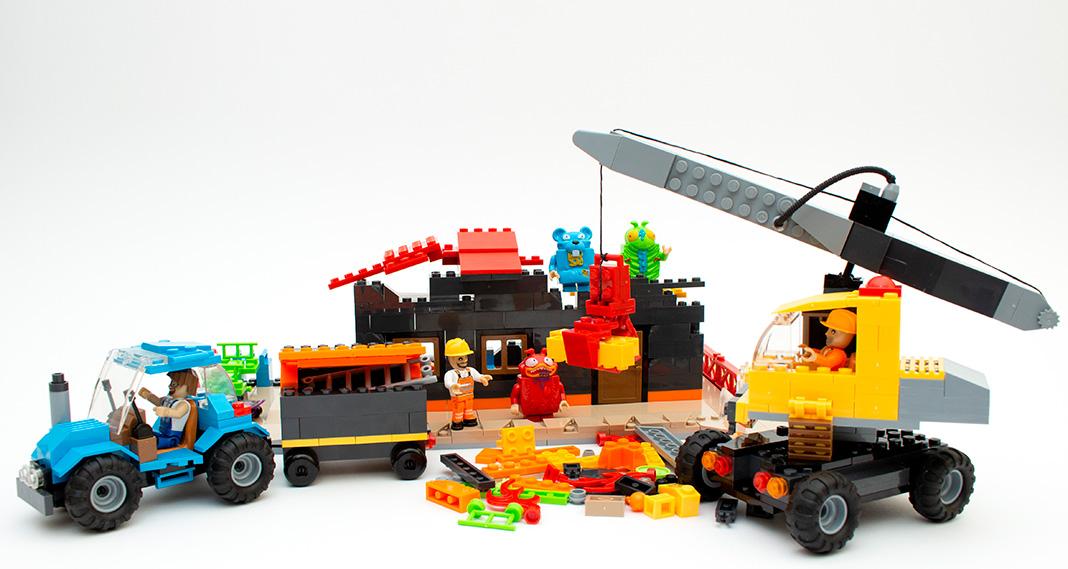COBI 1675 - Demolition Site im Review