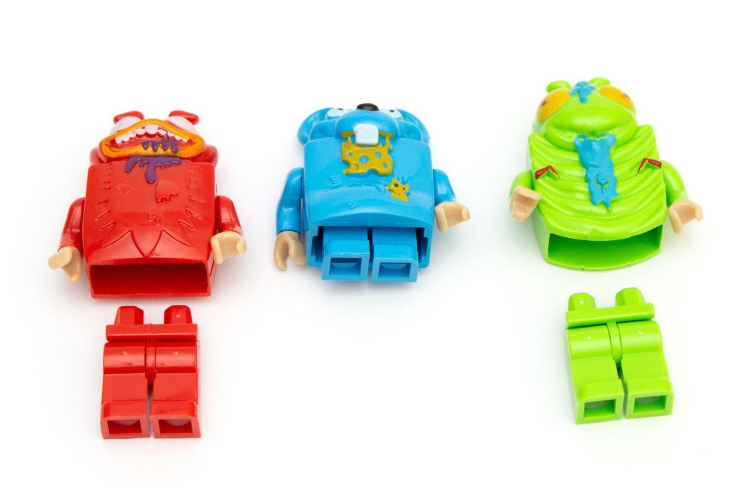Die unerklärlichen Figuren erinnern in ihren Beinen stark an die bekannten Minifiguren