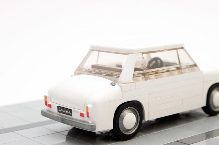 Viele liebvolle Details verschönern das Modell des Syrena 104