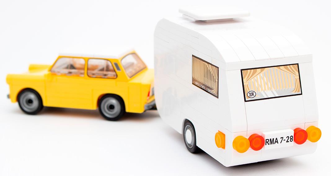 COBI 24590 Trabant 601 + Caravan im Review