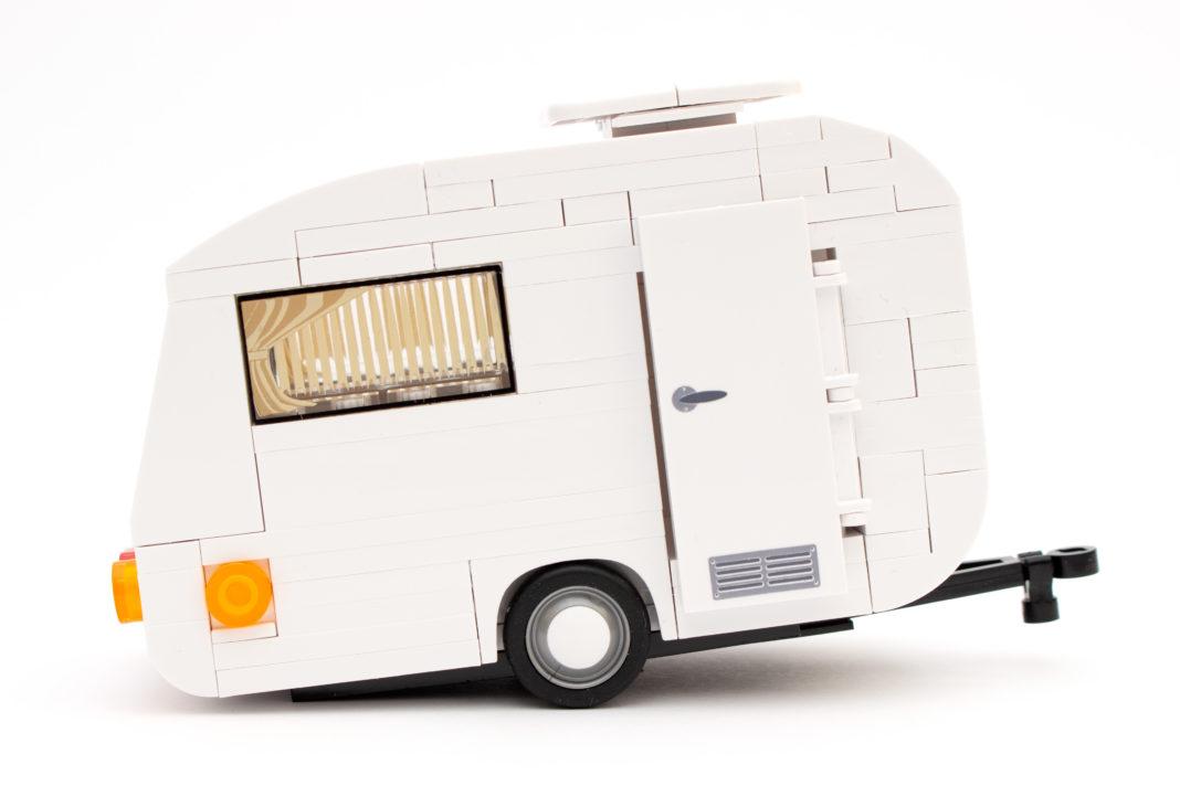Der Caravan neigt aufgrund ungünstiger Gewichtsverteilung zum Kippen