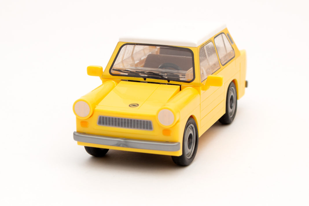 Auch mit dieser Version des Trabant 601 zeigen die Designer von COBI erneut ihr Können