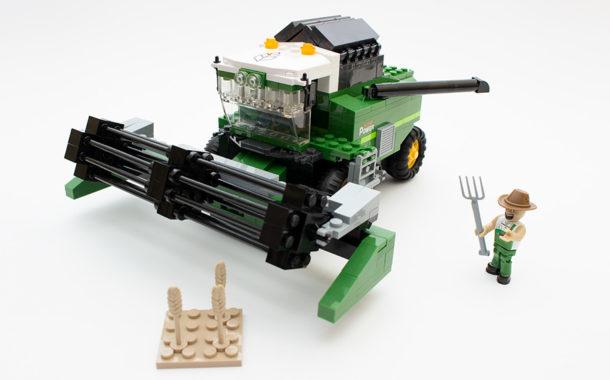 COBI 1866 Combine Harvester im Review
