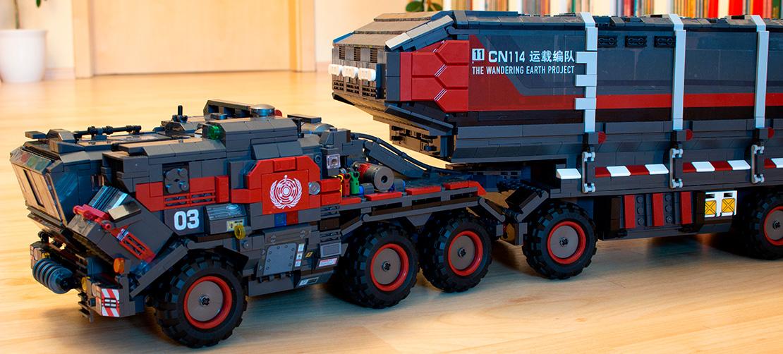 Sembo SD107009 - Großer Cargo Transporttruck im Review