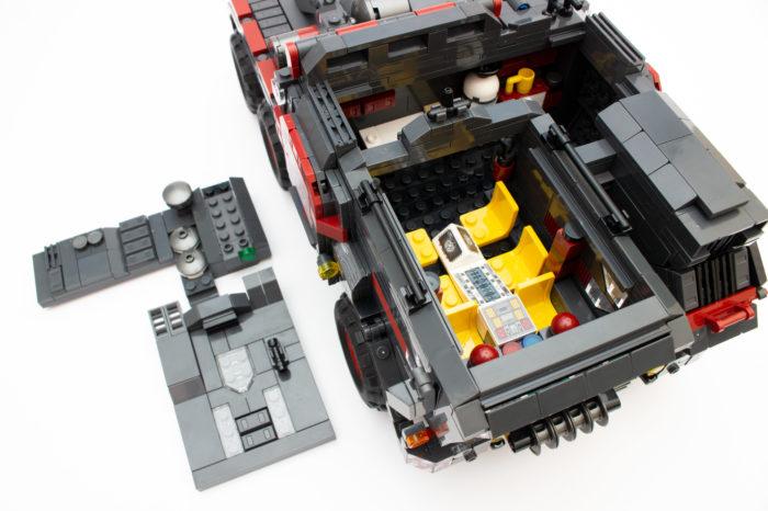 Das Führerhaus des Cargo Trucks ist gut umgesetzt