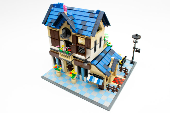Das fertige Landhaus ist als Modell schön anzusehen, aber birgt einige Schwächen