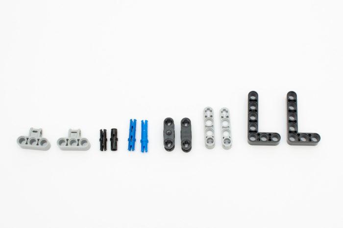 Teile von XingBao (Links) im Vergleich zu LEGO (rechts)