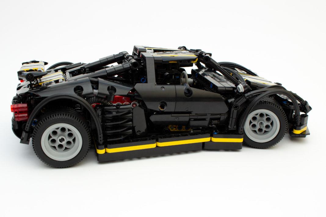 Nach knapp 9 Stunden ist das sehr massive und formschöne Modell fertig gestellt