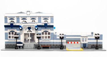 BlueBrixx 101115 & 101116 - Klassische Polizeistation und Hof im Review