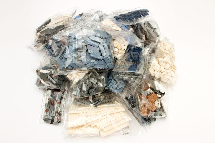 40 Tüten sorgen für viel Müll