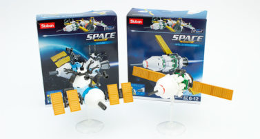 Sluban M38-B0731A Apollo Spacecraft und M38-0731B Skylab im Review