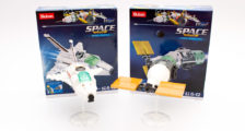 Sluban M38-B0731C Space Shuttle und M38-0731D Cargo Space Ship im Review