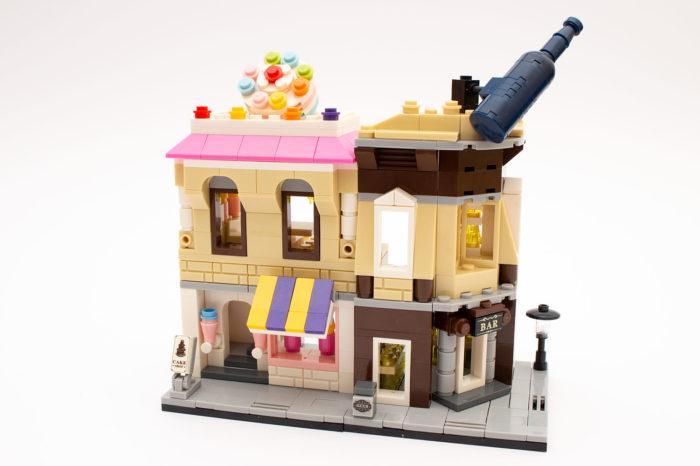 Cake Shop und Corner Bar passen gut zusammen