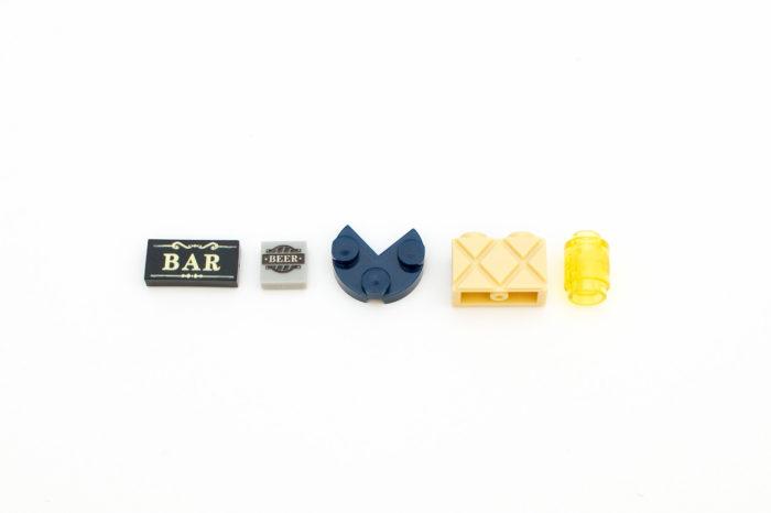 Interessante Teile bei der Corner Bar