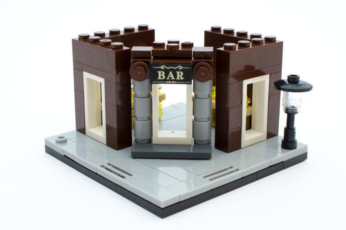 Das Erdgeschoss der Corner Bar ist nach 20 Minuten fertig