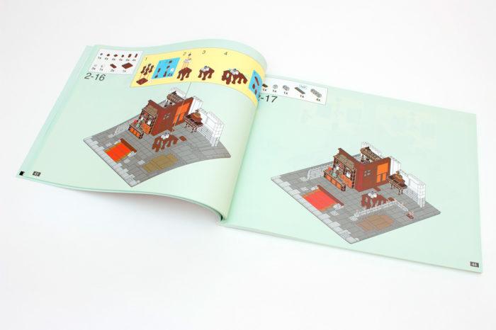 Die Anleitung ist sehr verständlich aufgebaut, zeigt teilweise aber andere Farben