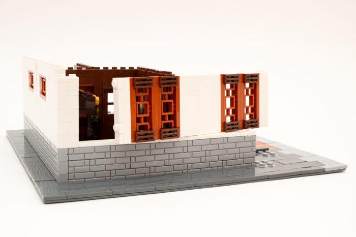 Das Modell beinhaltet auch interessante Bautechniken