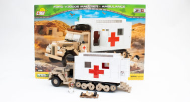 Cobi 2518 - Ford V3000S Maultier-Ambulance im Review