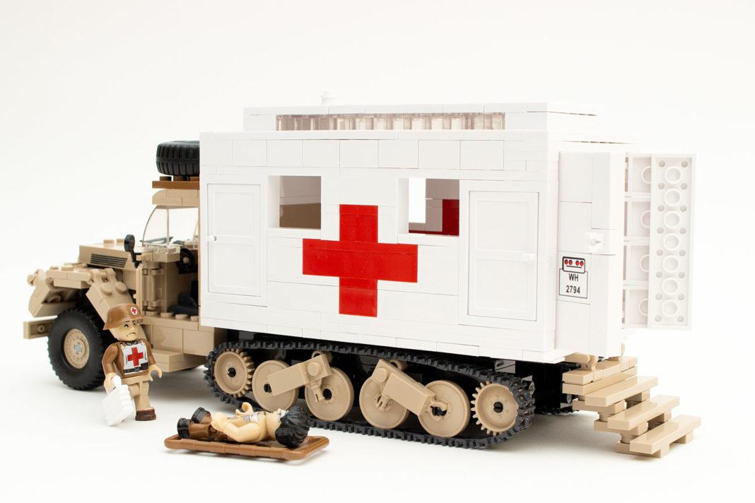 Der fertige Ford V3000S Maultier Ambulance