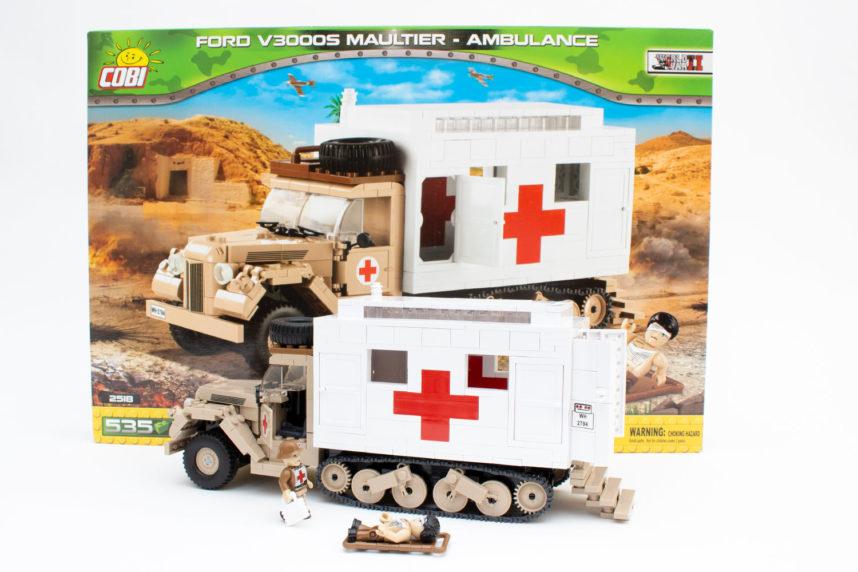 Cobi 2518 - Ford V3000S Maultier-Ambulance