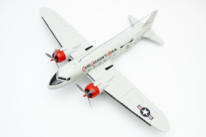 Nach 3,5 Stunden fertig: Die C-47 Skytrain von Cobi