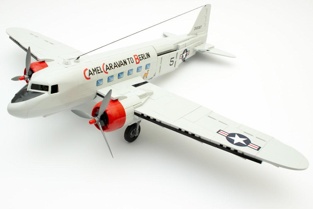 Die C-47 ist ein sehr imposantes Gebilde
