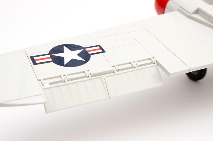 Die Landeklappen der C-47