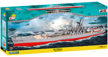 Battleship Yamato (4814) von Cobi in der Historical Collection ab November erhältlich