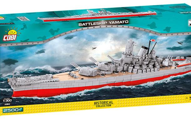 Battleship Yamato (4814) von Cobi in der Historical Collection ab November erhältlich