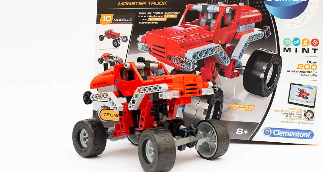 Galileo Construction Challenge - Monster Truck im Review