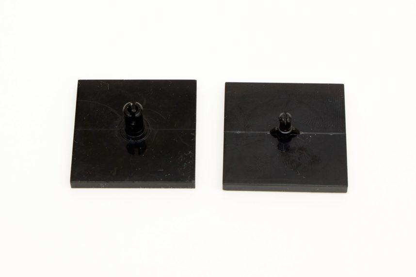 Das neue Drehgelenk (links) und die bisherige Variante (rechts)
