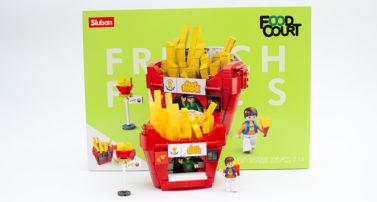 Sluban M38-B705B – French Fries im Review