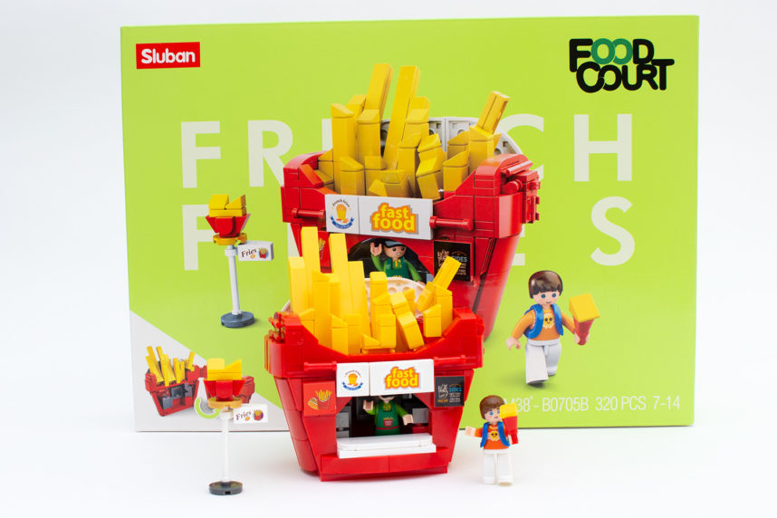 Sluban M38-B705B - French Fries im Review
