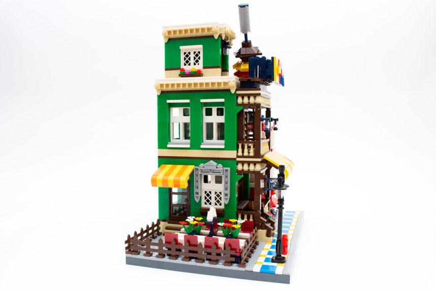 Das Ergebnis von 7,5 Stunden Bauen