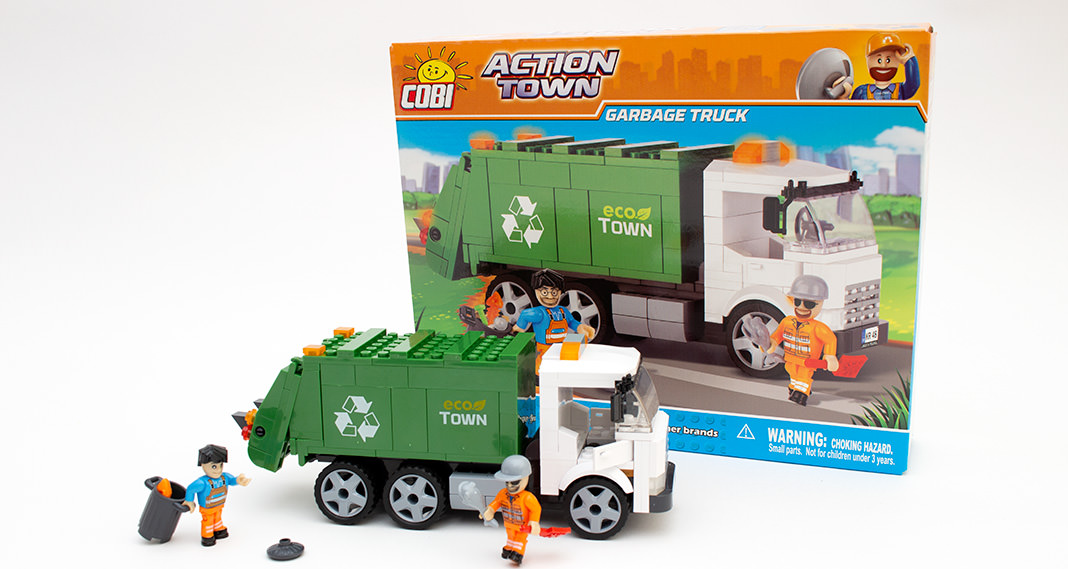 Cobi 1780 - Garbage Truck im Review