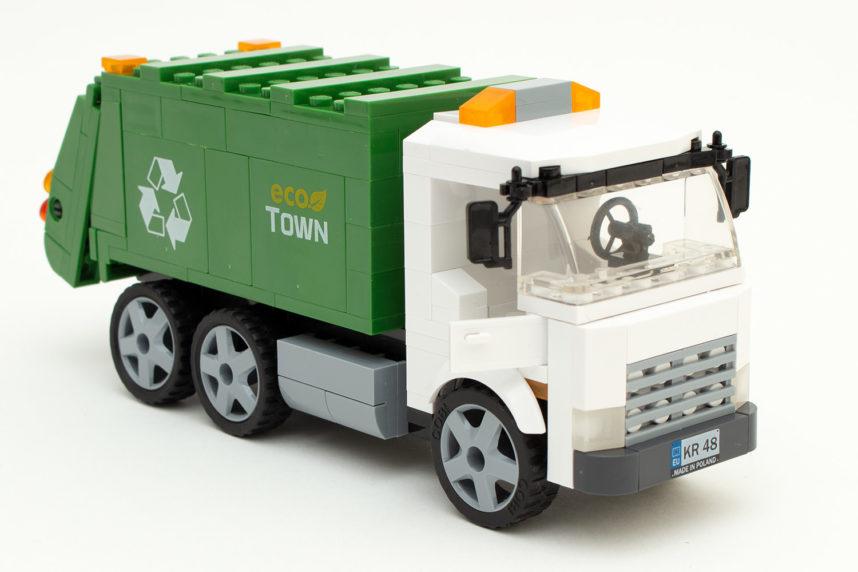 Der Garbage Truck ist nach rund 30 Minuten fertig gestellt