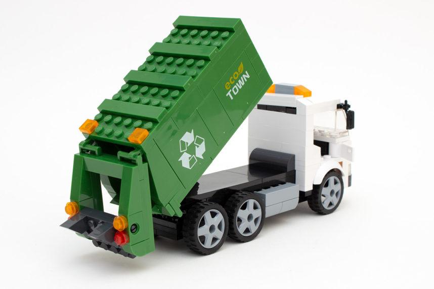 Der Garbage Truck in Aktion