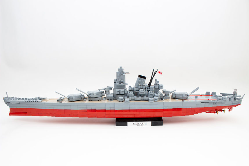 Die Musashi (4811) von Cobi in ihrer vollen Pracht