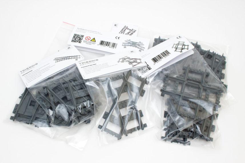 Die Sets von TrixBrix werden umweltfreundlich in Zip-Beuteln versendet
