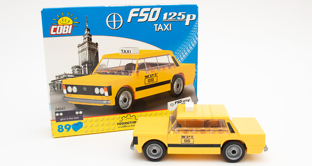 Cobi 24547 - FSO 125p Taxi im Review