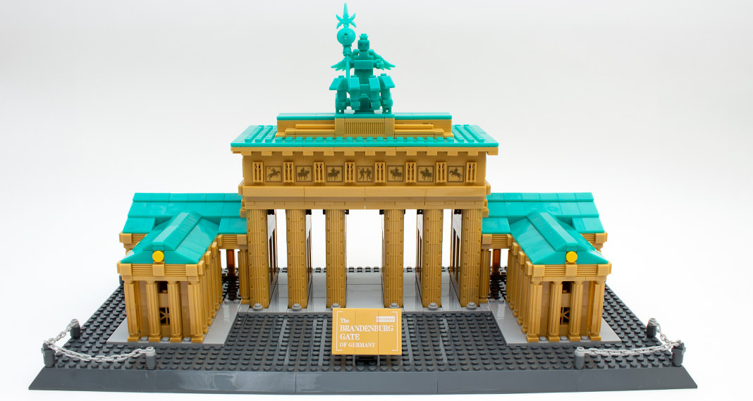 Wange 6211 - Brandenburger Tor im Review