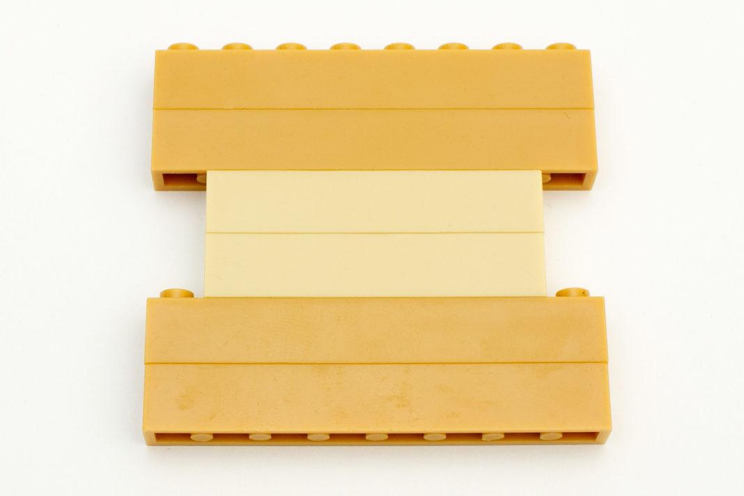 Auch zu Wanges vorherigen Architekturmodellen gibt es farbliche Unterschiede