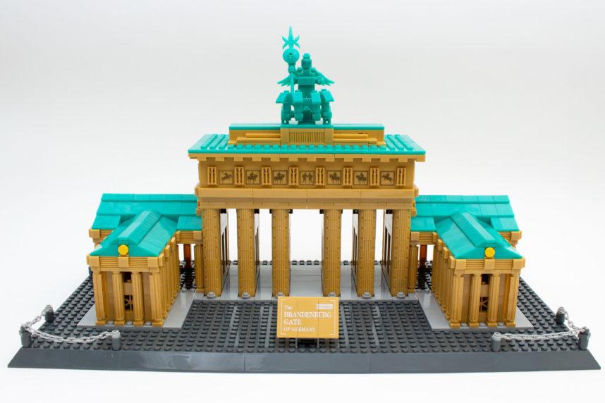 Das fertige Brandenburger Tor von Wange